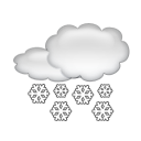 Chutes de neige