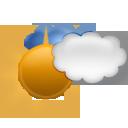Légèrement nuageux